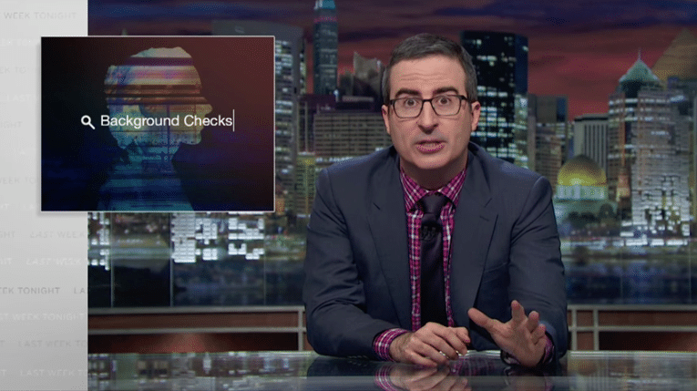 Fact Checking John Oliver's Report on Credit Reports and Background Checks