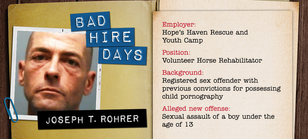 Joseph T. Rohrer's previous conviction for possessing child pornography
