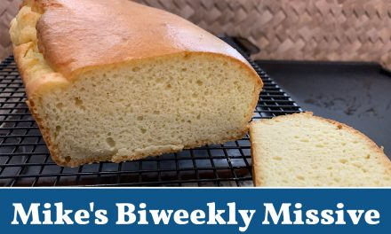 Race, COVID, and Egg Bread (Mike's Biweekly Missive)